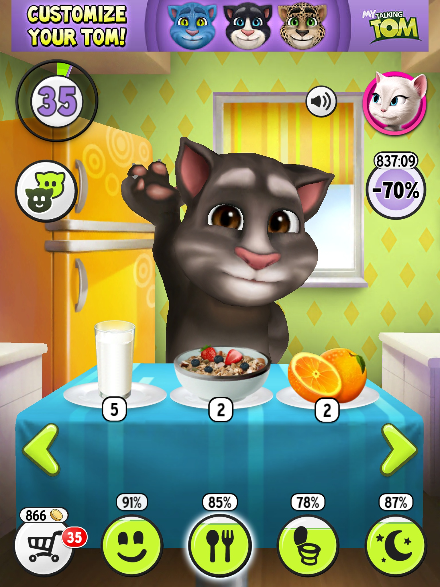 My talking tom unlimited money - My talking tom pictures ...
