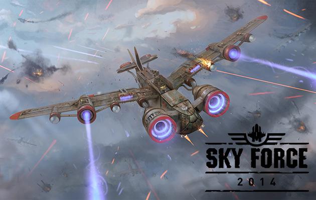 Sky Force 2014 v1.36 Modded Unlimited Stars
