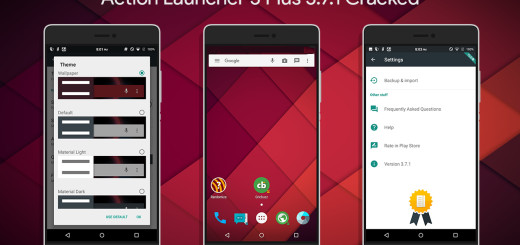 Action Launcher 3 Plus 3.7.1 MOD